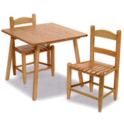 25 Child's Table and Chair Set