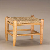 Small Sea Grass Foot Stool