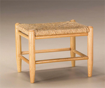 Large Sea Grass Foot Stool