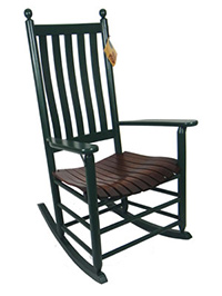 Quick Ship 470 Classic Shaker Rocker with Lumbar Back